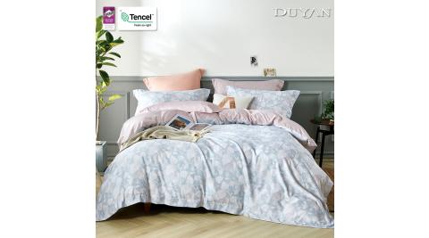 《DUYAN 竹漾》天絲雙人床包枕套三件組 - 達芙妮