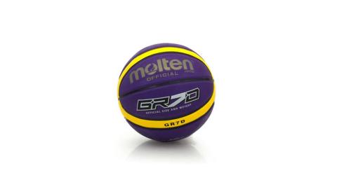 MOLTEN 籃球-9色-7號球 附球針 紫黃@BGR7D-VY@