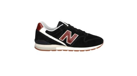 NEWBALANCE 男女復古慢跑鞋-休閒 麂皮 996系列 N字鞋 NB 黑咖啡@CM996BC@