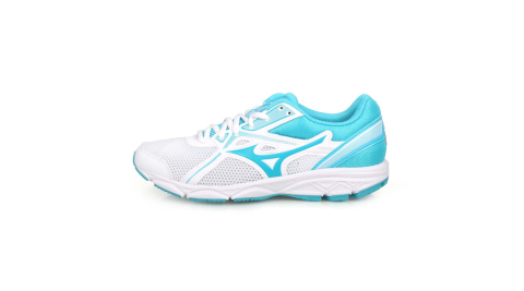 MIZUNO MAXIMIZER 22 女慢跑鞋-WIDE-寬楦 路跑 美津濃 白水藍@K1GA200125@