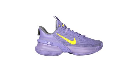 NIKE AMBASSADOR XIII 限量-男籃球鞋-LEBRON 運動 紫黃@CQ9329500@