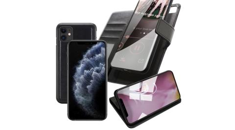 XmartforiPhone1161吋典雅二合一可分離牛皮皮套