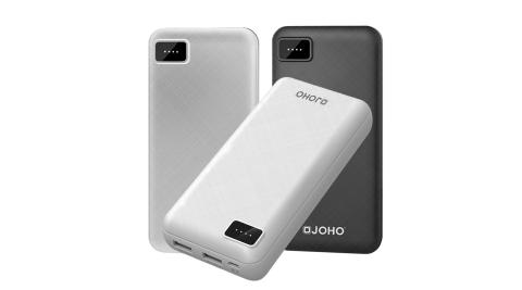 JOHO 雙USB大容量行動電源 26000mAh 超大容量 合格認證