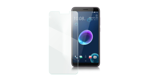 Xmart for HTC Desire 12 薄型9H玻璃保護貼-非滿版