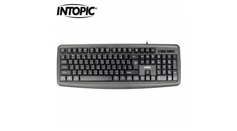 【INTOPIC 廣鼎】KBD-79 USB多媒體標準鍵盤