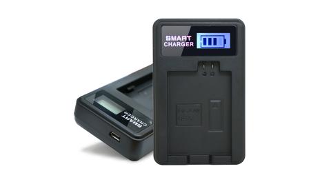 YHO 單槽 液晶顯示充電器(Micro輸入) for Canon LP-E5 / LPE5