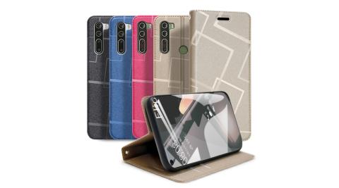 GENTEN for HTC U20 5G 極簡立方磁力手機皮套