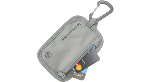 《TRAVELON》RFID防盜貼身包(灰)