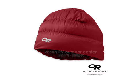 【美國 Outdoor Research】Transcendent Beanie 輕量透氣防潑水保暖羽毛帽/Pertex超輕量防潑水/81810 紅