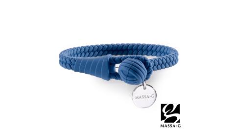 MASSA-G 【絕色典藏】負離子能量手環/腳環-濱河藍