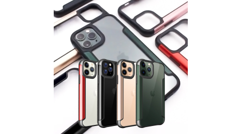 Xmart for iPhone 11 Pro 5.8吋 金屬感風尚防摔手機保護殼