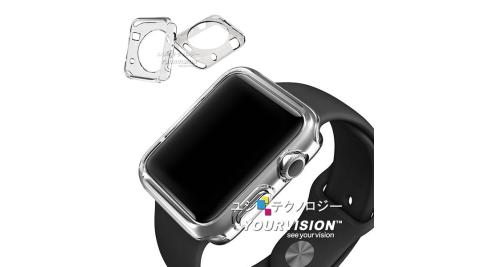 (1入)Apple Watch 38mm 專用清透水感保護套 crystal case
