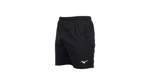 MIZUNO 男排球短褲-美津濃 黑白@V2TB7A0709@