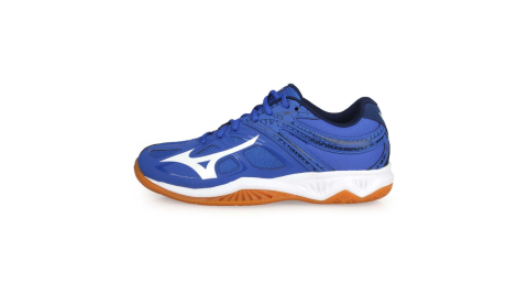 MIZUNO THUNDER BLADE 2 男女排球鞋-訓練 美津濃 藍白丈青@V1GA197026@