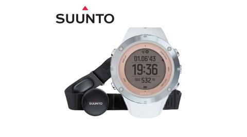【芬蘭 SUUNTO】新款 AMBIT3 SPORT SAPPHIRE (HR) GPS 全功能戶外運動錶/藍芽.心率_藍寶石鏡面 SS020672000