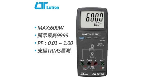 Lutron路昌 記錄型瓦特錶 DW-6163