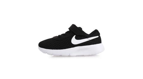 NIKE TANJUN-TDV 男女兒童運動鞋-慢跑 童鞋 黑白@818383011@