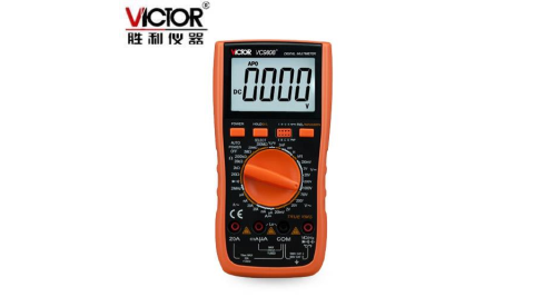 VICTOR勝利 VC9808+ 真有效值數位電表(增加電感測試功能)
