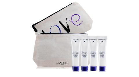 LANCOME 蘭蔻 超緊顏5D太空乳霜面膜(15ml)X4送品牌化妝包