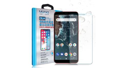 MONIA 小米A2 日本頂級疏水疏油9H鋼化玻璃膜 玻璃保護貼(非滿版)