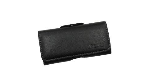 Xmart for Samsung Galaxy S9 紳士薄型橫式腰掛皮套