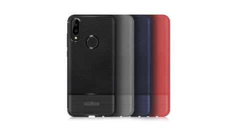 VXTRA 華為 Huawei Nova 3i 防滑手感皮紋 軟性手機殼