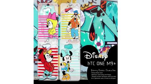 迪士尼授權正版 HTC One M9+ M9 Plus 街頭系列透明軟式手機殼