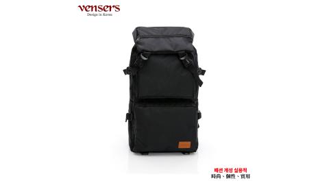 【vensers】都會風後背包(RC805301黑色)