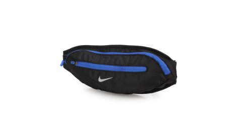 NIKE 大運動腰包-臀包 側背包 肩背包 慢跑 路跑 黑藍@N0001365028OS@