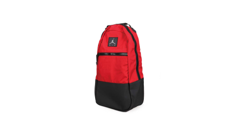 NIKE JORDAN 後背包-15吋筆電 肩背包 雙肩包 電腦包 飛人喬丹 紅黑@9A0192-R78@