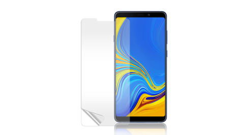 Monia 三星 Samsung Galaxy A9 (2018) 高透光亮面耐磨保護貼 保護膜(非滿版)