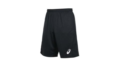 ASICS 男排球短褲-針織 五分褲 運動 慢跑 路跑 涼感 亞瑟士 黑白@2051A266-001@