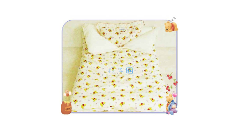 【孩子國】維尼嬰兒睡袋+睡枕