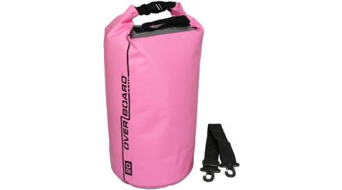 【OVERBOARD】OB1005 CLASSIC 側背防水袋 20L 粉色