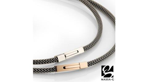 MASSA-G Titan XG2 5mm質感銀超合金鍺鈦對鍊