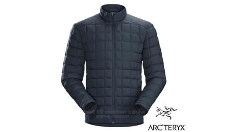 【加拿大 Arc'teryx 始祖鳥】RICO JACKET 男款 750FP 輕薄羽絨化纖保暖羽絨外套.鵝絨外套/16116 夜鷹藍 D