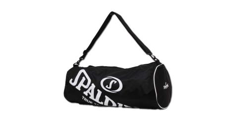 SPALDING 三顆裝球袋-斯伯丁 籃球 側背包 手提袋 收納袋 行李袋 黑白@SPB5314N00@