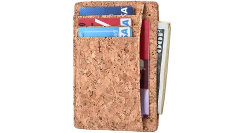 《Kinzd》防盜證件卡夾(木紋)