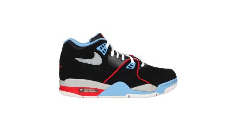 NIKE AIR FLIGHT 89 男運動鞋-經典 復古 街頭運動 氣墊 黑藍紅@DB5918001@