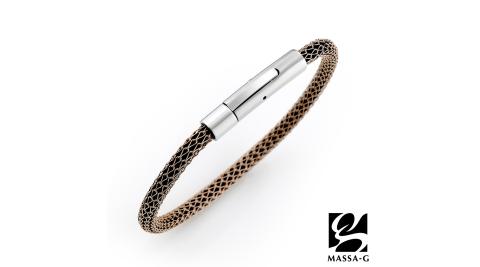 MASSA-G Titan XG2 Pure 4mm超合金鍺鈦手環(玫瑰金限定版)