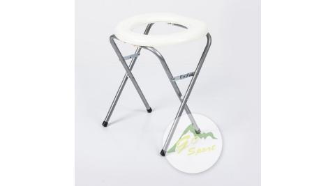【GoSport】51002 簡易型行動馬桶 便器附塑膠袋/臨時廁所/摺疊馬桶/野營如廁