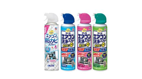 興家安速 冷氣清潔雙效 六件組(清洗劑x4+防霉除菌劑x2)