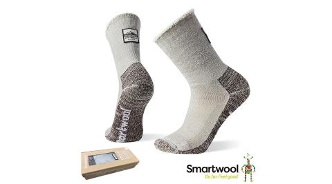 【SmartWool 智慧羊毛】SW004069039 智慧羊毛 復古重量避震舒適保暖襪 淺灰 登山襪 襪子 保暖襪
