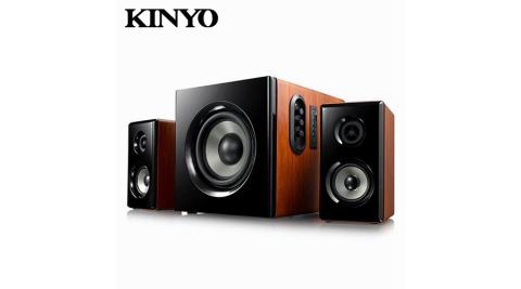 【KINYO 耐嘉】2.1藍牙多媒體音箱(KY-1856)