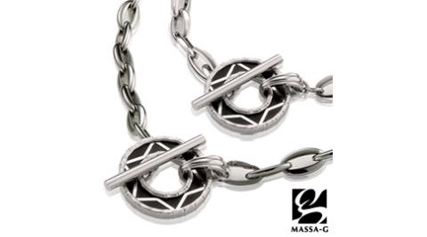 MASSA-G Deco系列  黑色恆星 鍺鈦項鍊