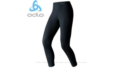 【瑞士 ODLO】warm effect 女機能型銀離子保暖長褲.內刷毛排汗褲.衛生褲.輕.透氣.抗靜電/黑152041