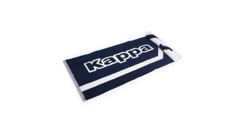 KAPPA 運動毛巾-海邊 游泳 戲水 慢跑 路跑 丈青白@304TTXD-915@