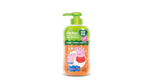 快潔適 博寶兒 植萃低敏洗髮沐浴露(2合1)(650ml-佩佩豬)