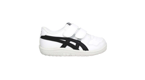ASICS JAPAN S TS 男女小童休閒運動鞋-慢跑 亞瑟士 復古 童鞋 白黑@1194A082-141@