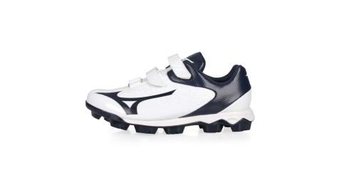 MIZUNO WAVE SELECT NINE BLT男棒壘球鞋-WIDE-寬楦 白丈青@11GP202014@
